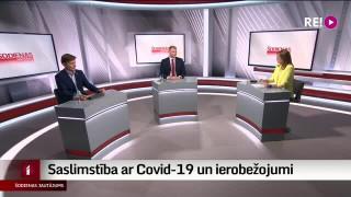 Šodienas jautājums - saslimstība ar Covid-19