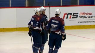 Latvijas hokeja virslīga. HK Zemgale/LLU 6:2 HK Dinaburga