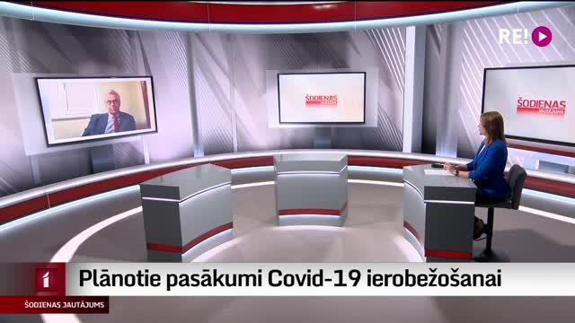 Šodienas jautājums - plānotie pasākumi Covid-19 ierobežošanai