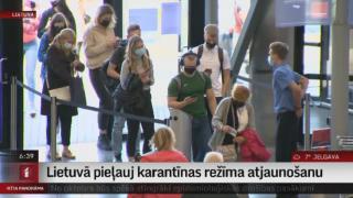 Lietuvā pieļauj karantīnas režīma atjaunošanu