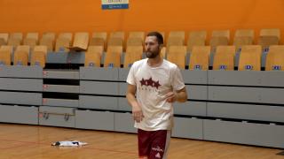 Latvijas sieviešu basketbola izlase aizvada treniņus pirms FIBA PK kvalifikācijas turnīra