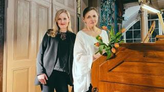 Ērģelniece Vita Kalnciema koncertu ciklā «Viens pats studijā»