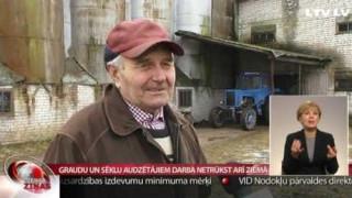 Graudu un sēklu audzētājiem darba netrūkst arī ziemā