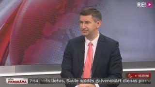 Intervija ar Vjačeslavu Dombrovski. Partijas kongresā lems par «Saskaņas» reorganizāciju