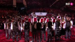 Latvijas koris «Maska» uzstājas Eirovīzijas koru konkursa finālā