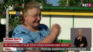 No Valmieras attālāk dzīvojošiem noskaņojums dažāds