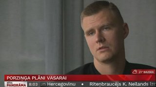 Intervija ar basketbolistu Kristapu Porziņģi