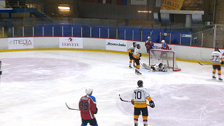 Latvijas hokeja virslīga. HK «Zemgale/LLU» - HK «Dinaburga»