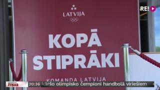 Latvijas olimpieši atgriežas mājās
