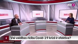Šodienas jautājums - valdības rīcību Covid-19 krīzē vērtē Valsts prezidents Egils Levits