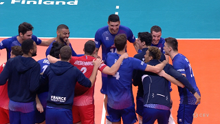 Eiropas čempionāts volejbolā. Latvija 0:3 Francija
