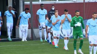 UEFA Eiropas Konferences līgas kvalifikācijas spēle «Riga FC» 1:1 «Lincoln Red Imps»