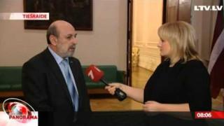 Ikgadējās ārpolitikas debates, intervija ar Borisu Cileviču