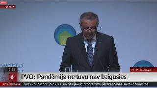 PVO: Pandēmija ne tuvu nav beigusies
