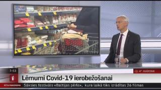 Intervija ar Ministru prezidentu Krišjāni Kariņu (JV)