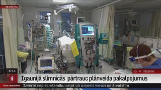 Igaunijā slimnīcās  pārtrauc plānveida pakalpojumus