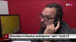 """Skolotājas no Bauskas sludinājumos """"pērk"""" Covid-19"""