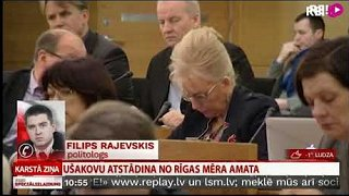 Rajevskis: līdz ar Ušakova atstādināšanu Rīgā pieaugs GKR  ietekme