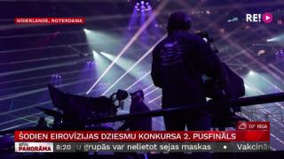 Šodien  Eirovīzijas dziesmu konkursa 2. pusfināls