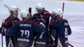 Latvijas hokeja Virslīga. HK «Zemgale/LLU» - HK «Liepāja» un HS «Rīga» - HK «Olimp/Venta 2002»