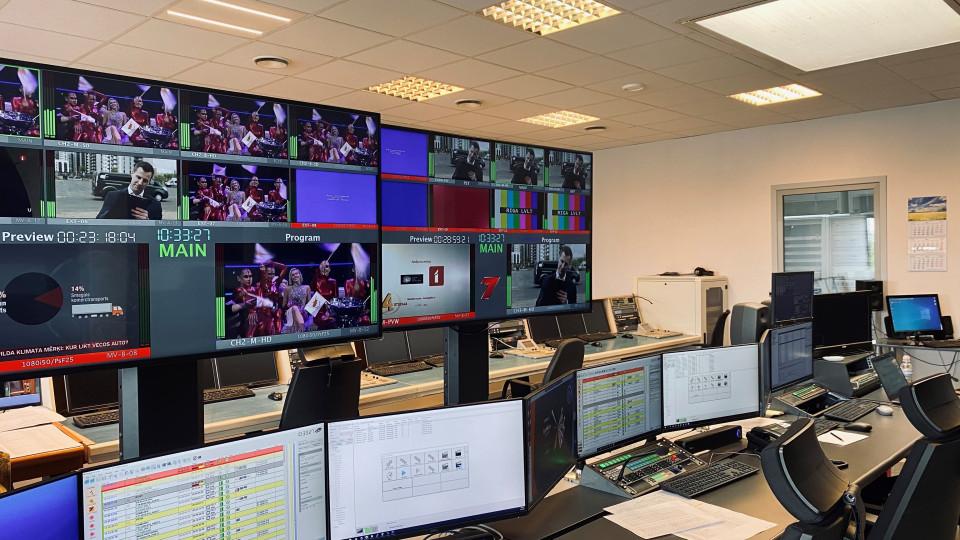 Latvijas Televīzija pāriet uz apraidi HD izšķirtspējā – sācis strādāt jaunais Programmu izlaides komplekss