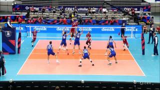 Eiropas čempionāts volejbolā. Astotdaļfināls. Latvija - Itālija