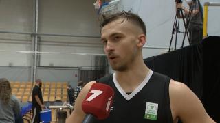 Latvijas - Igaunijas basketbola līga. «VEF Rīga» - «Parnu Sadam». Kristers Zoriks