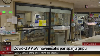 Covid-19 ASV nāvējošāks par spāņu gripu