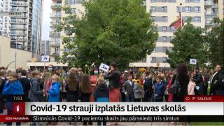 Covid-19 strauji izplatās Lietuvas skolās