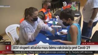 ASV eksperti atbalsta mazu bērnu vakcināciju pret Covid-19