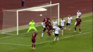 UEFA U-21 atlases spēle futbolā. Latvija – Vācija