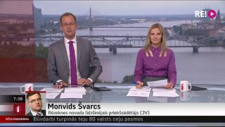 Telefonsaruna ar Rēzeknes novada līdzšinējo priekšsēdētāju Monvīdu Švarcu
