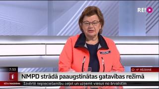 Intervija ar NMPD Operatīvā vadības centra vadītāju Raitu Krišjāni