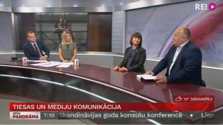 Intervija ar Sanitu Osipovu un Ringoldu Balodi par tiesu un mediju komunikāciju