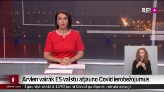 Arvien vairāk ES valstu atjauno Covid-19 ierobežojumus