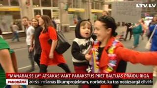 «Manabalss.lv» atsakās vākt parakstus pret Baltijas praidu Rīgā