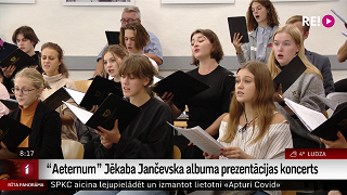 """""""Aeternum"""" Jēkaba Jančevska albuma prezentācijas koncerts"""
