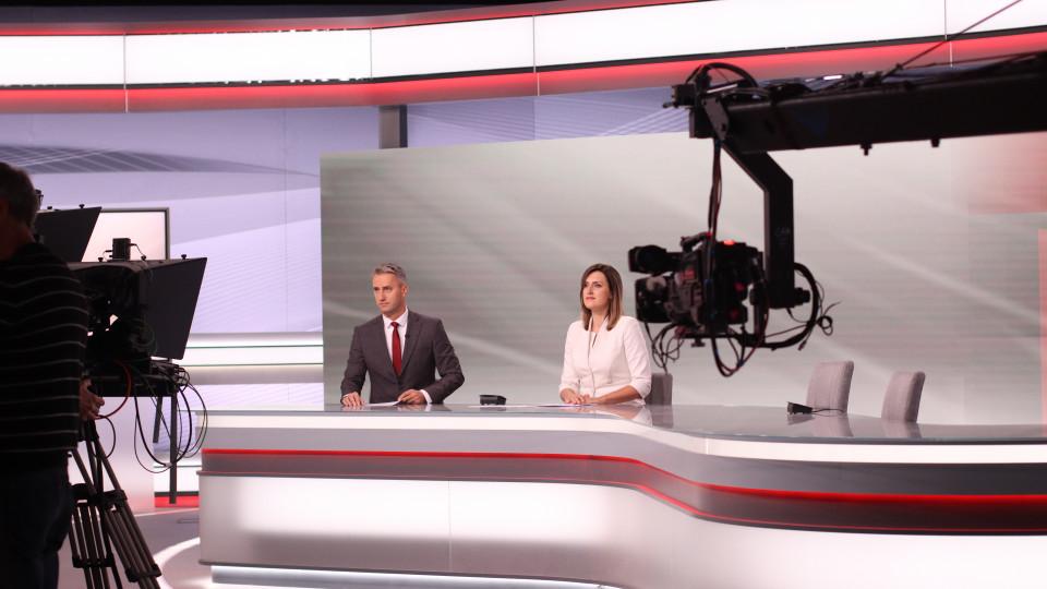 Atklāta Latvijas Televīzijas jaunā Ziņu studija