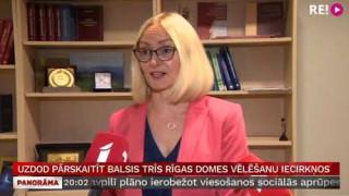 Uzdod pārskaitīt balsis trīs Rīgas domes vēlēšanu iecirkņos