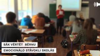 Sižetu sērija «Mobings» : Sāk vērtēt bērnu emocionālo stāvokli skolās