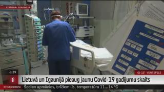 Lietuvā un Igaunijā pieaug jaunu Covid-19 gadījumu skaits