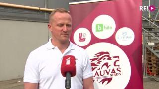 Latvija-Šveice. Intervija ar treneri Arti Ābolu pirms spēles