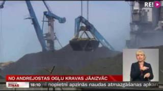 No Andrejostas ogļu kravas jāaizvāc
