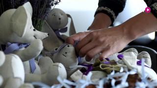 Audzē lavandas un ražo rotaļlietas Grobiņas novadā - Zane Gusta. Tuesi.lv