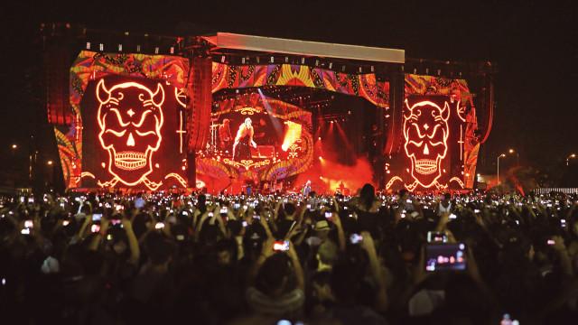 Grupa The Rolling Stones. Havana Moon. Koncerts