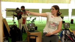Šāvēja Agate Rašmane debitēs Olimpiskajās spēlēs